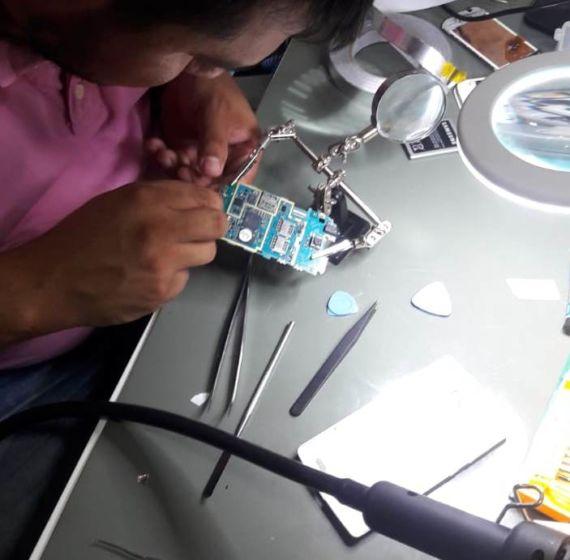 Curso de reparo em placas lógicas de smartphones